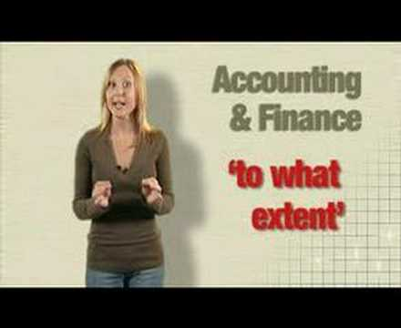 Accounting and Finance - Profit and Revenue