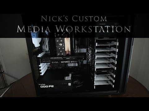 Nick's custom Computer... it was time.  (Custom workstation for media creators)