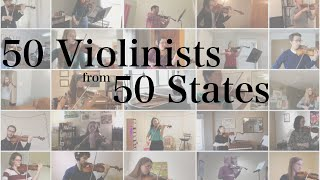 50 Violinists From Every State in America Give Musical Thanks to Healthcare Workers | Salut d'Amour