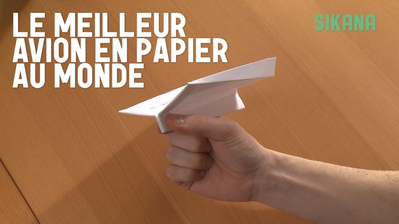 origami le meilleur avion en papier du monde hd youtube. Black Bedroom Furniture Sets. Home Design Ideas