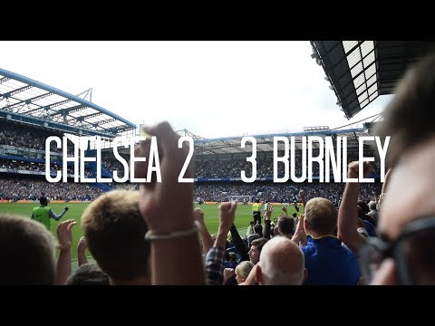 CHELSEA 2 - 3 BURNLEY | Cahill & Fabregas Red Card Nightmare | [Vlog]