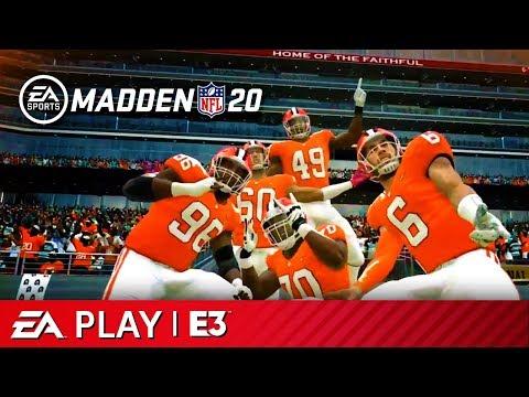 Madden NFL 20 - Full Reveal Presentation | EA Play E3 2019