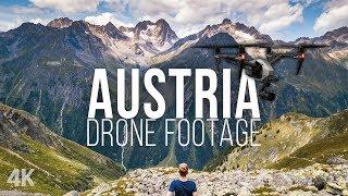 AUSTRIA Drone Footage // ALPS IN 4K // DJI Mavic Pro Story