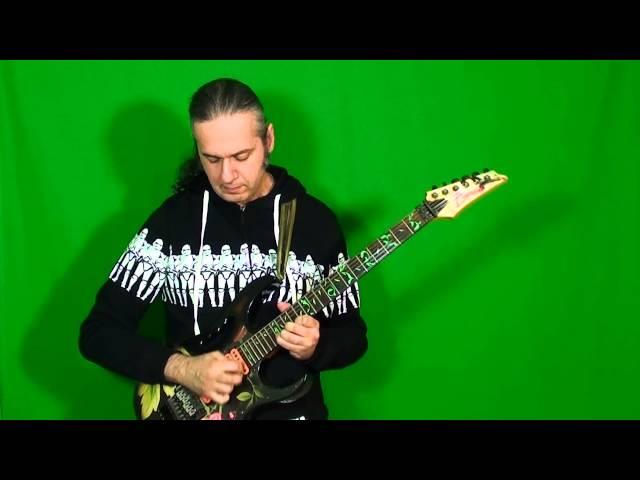 MARCELLO ZAPPATORE plays UNDER A GLASS MOON solo by JOHN PETRUCCI (Dream Theater)