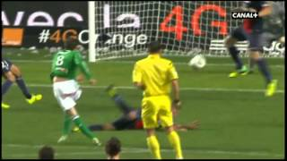 ASSE PSG Match en entier 1ére mi-temps commentaires canal+