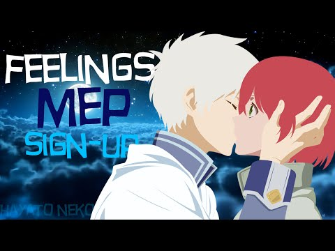 Feelings MEP Sign Up // 12/21 Parts Taken