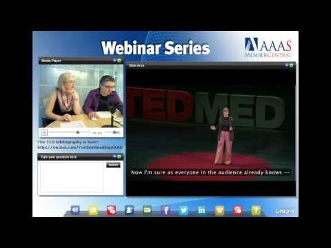 Webinar: Tips from TED on giving engaging presentations