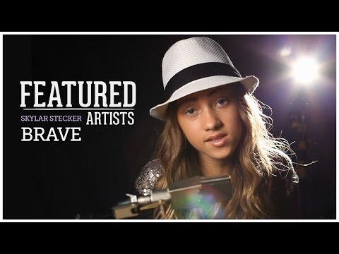 Sara Bareilles - Brave ( Skylar Stecker Piano Cover   Featured Artists)
