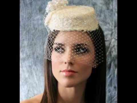Vintage Bridal Cocktail Hat With Veil