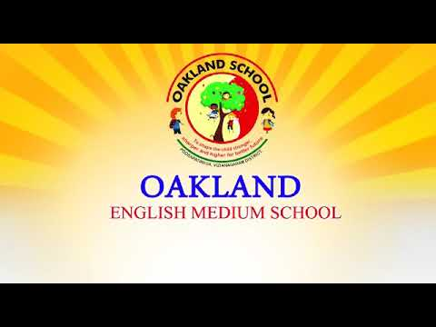 Oakland English Medium School- Advertisement 2018