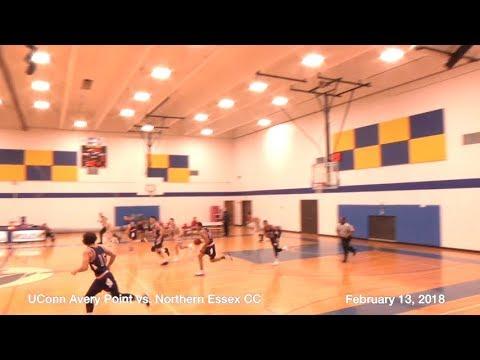 UConn Avery Point Men's BB - vs. Northern Essex CC,  Feb. 13, 2018