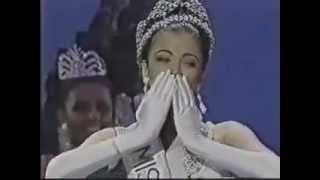 Aishwarya Rai - Final Crowning Moment - Miss World 1994
