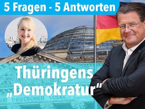 Demokratur in Thüringen! Kemmerich weggeputscht! (5 Fragen und 5 Antworten)