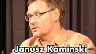 Janusz Kaminski On Filming Minority Report