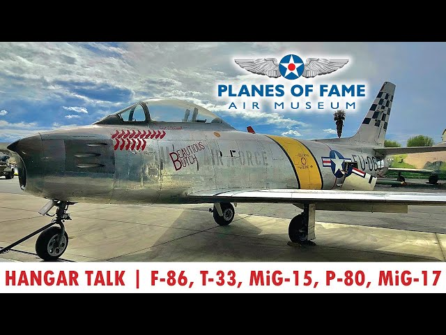 Steve Hinton Intro to Jets PART II: MiG 15 to F-86 | Hangar Talk | Planes of Fame