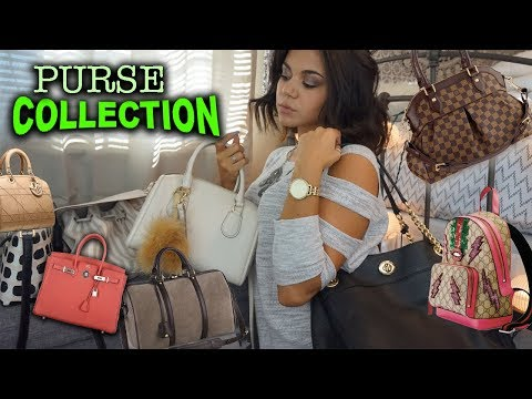 Purse Collection! *Highend Brands (Louis Vuitton, Kate Spade, Coach, Romwe)