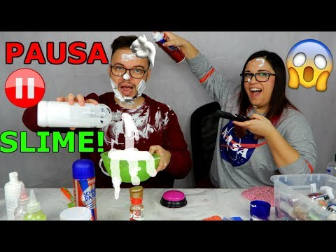 PAUSA SLIME CHALLENGE! CON PENITENZE! (The pause challenge) Iolanda Sweets