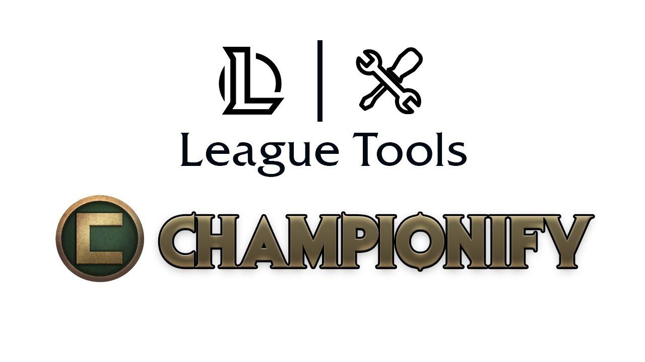 League Tools #2 - Automatische Item Sets - Championify