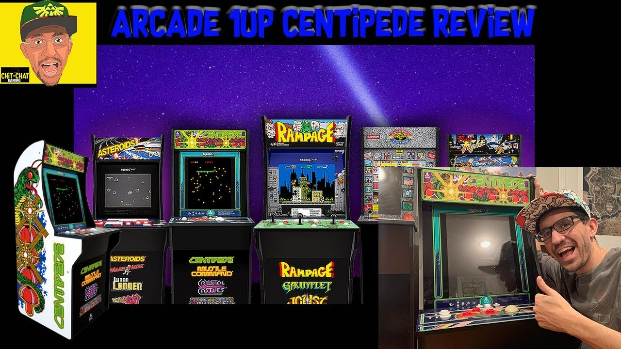 Arcade 1up Centipede Cabinet Review