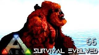 ARK: SURVIVAL EVOLVED - ALPHA RED MEGAPITHECUS TAME !!! E66 (MODDED ARK ANNUNAKI EXTINCTION CORE)