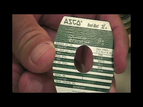 How To Identify An Asco Solenoid Valve YouTube - Asco red hat wiring diagram