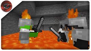 Minecraft Manhunt Extended: Under Lava Fight