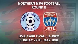 2018 NNSWF NPL Round 11 - Charlestown City Blues v Newcastle Jets Academy
