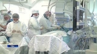 Уфимские хирурги впервые в Башкирии провели уникальную операцию по удалению аневризмы брюшной аорты