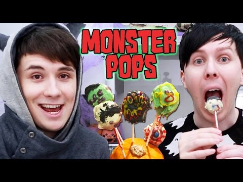 Thumbnail: Halloween Baking - MONSTER POPS!