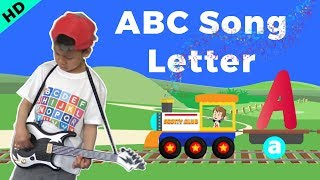 ABC Song Learn Letter A | Alphabet Childrens Song, ABC Train for Preschool Toddlers