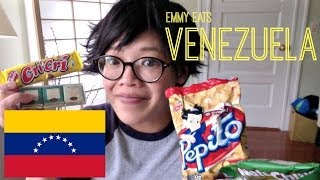 Emmy Eats Venezuela - tasting Venezuelan snacks & sweets