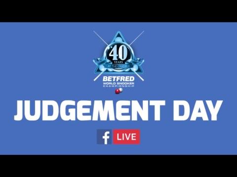 JUDGEMENT DAY   Betfred World Championship Qualifiers (Day 1)