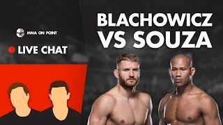 MMA On Point Live Chat: Blachowicz vs Souza Preview, Nick Diaz Fallout, Bellator 234