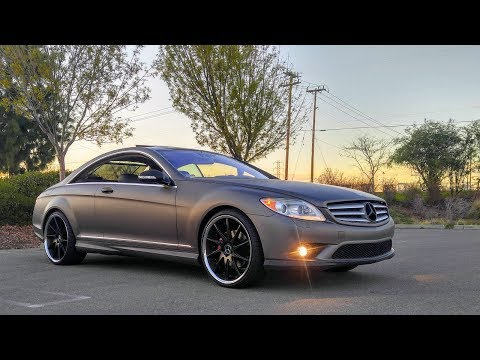 HERE IS WHY YOU SHOULDN'T BUY A CL550 MERCEDES!