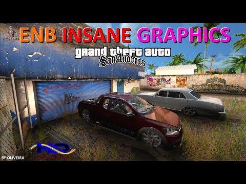 INSANE GRAPHICS ENB V313 GTA SA BY OLIVEIRA FULL HD 1080p60