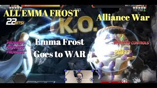 Emma Frost Goes To War-Alliance War All Emma-Marvel Contest of Champions