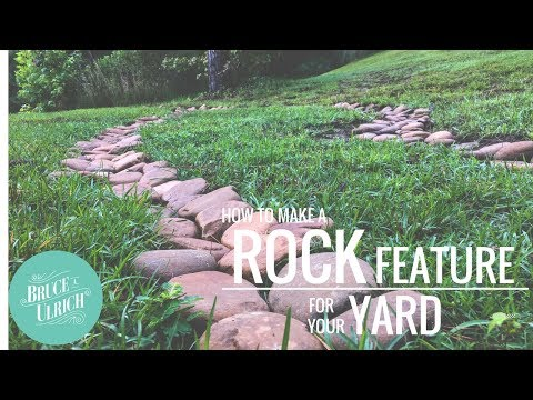 River Rock Feature // HOW TO
