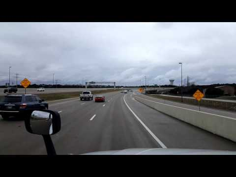 Bigrigtravels Live! - Cedar Park, Texas to Houston - Highway 290 - January 17, 2017