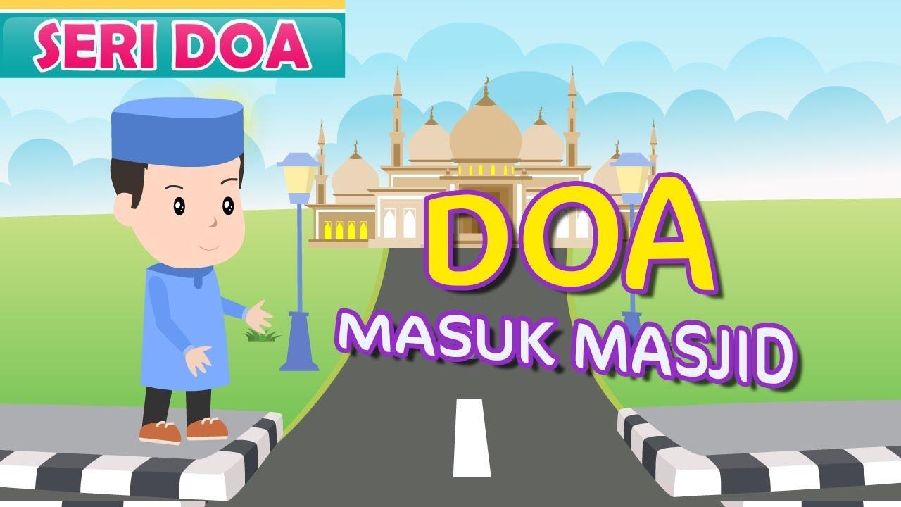 Doa Masuk Masjid Bersama Jamal Laeli 1 Youtube