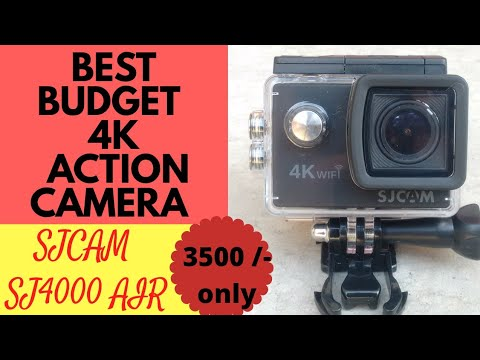 best budget 4k action camera 2018 sjcam sj4000 air 4k wi. Black Bedroom Furniture Sets. Home Design Ideas