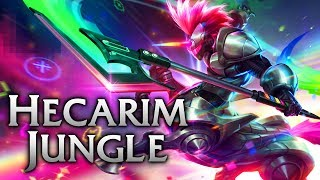 Arcade Hecarim Jungle - League of Legends Commentary