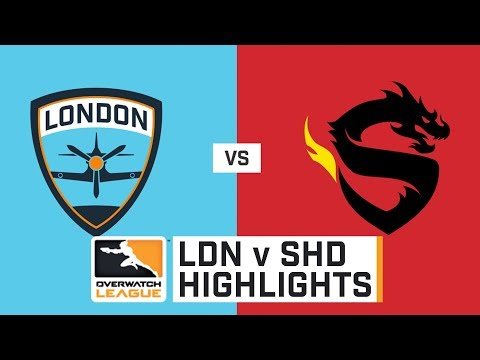 HIGHLIGHTS London Spitfire vs. Shanghai Dragons | Stage 1 | Week 4 | Day 4 | Overwatch League thumbnail