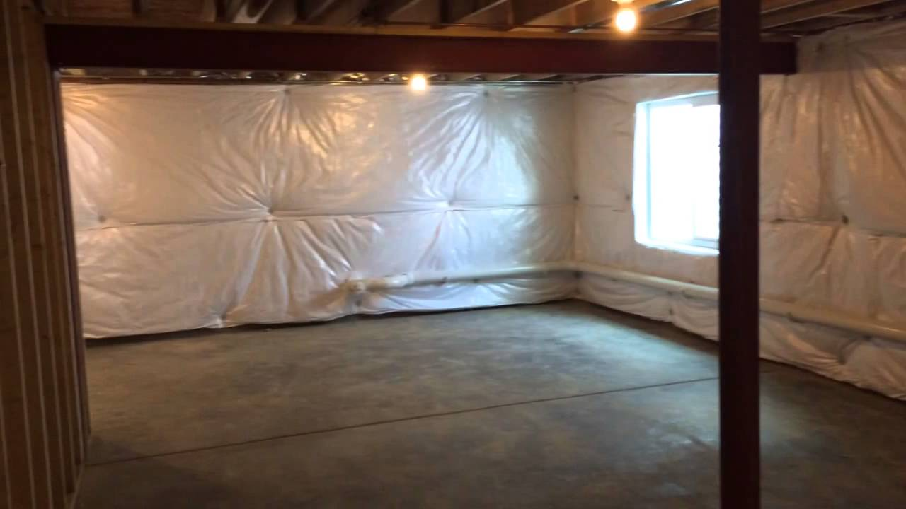 Partial basement - YouTube