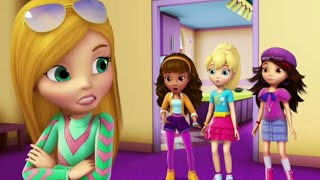 Polly Pocket full episodes | Crazy Race! 🌈Compilation | Kids Movies | Girls Movie