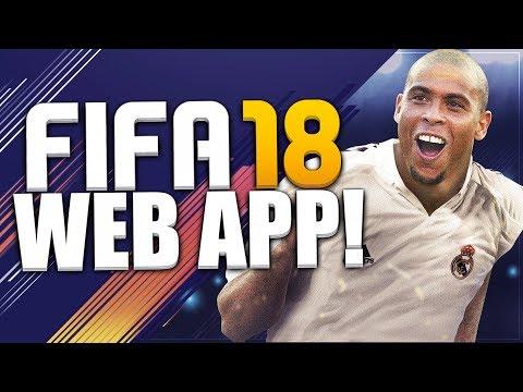 FIFA 18 WEB APP! WEB APP STARTER PACKS & SBCS! FIFA 18 ULTIMATE TEAM