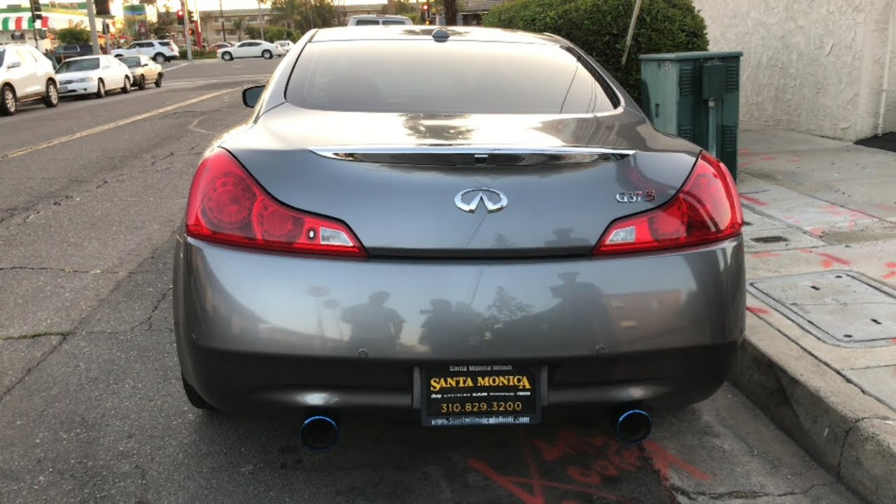New Mods For The G37 Youtube