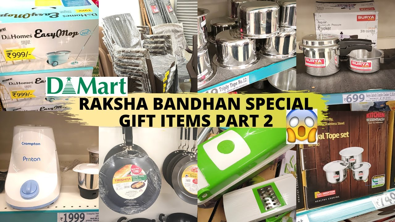 Dmart New Arrivals PART 2_ Raksha Bandhan😍 Special Edition    Rakhi😍Sweets😍Celebrations😍Gifts