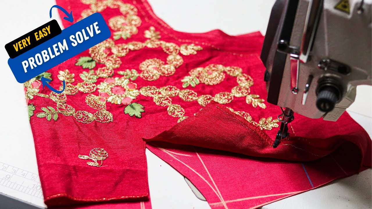 Download समस्या ख़त्म बहुत ही आसानी से बनाओ ये ब्लाउज | simple way for blouse cutting and stitching