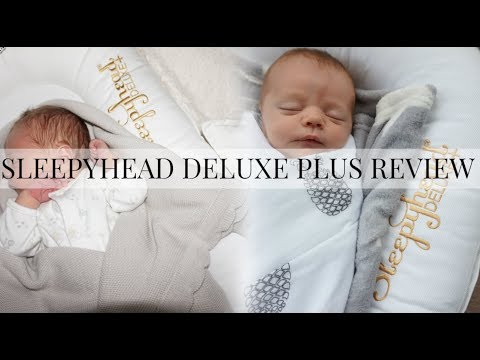 SLEEPYHEAD DELUXE+ REVIEW & UNBOXING   WORTH THE HYPE?!   BEST BABY BUY