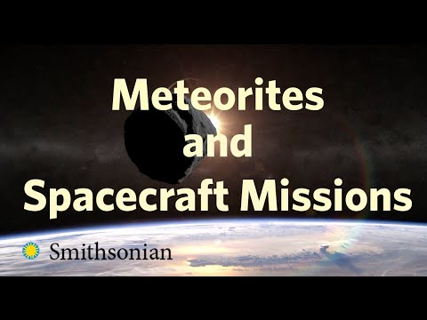 Meteorites and Spacecraft Missions with Tim McCoy